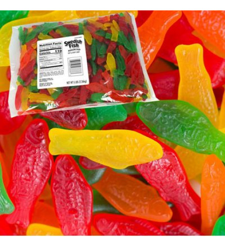 Swedish Fish Assorted 5lb (Large)