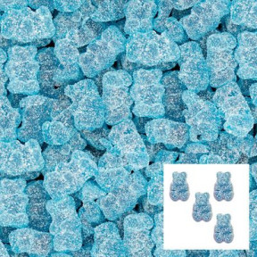Gummi Bears Sour Blue Raspberry 6.6lb Bulk
