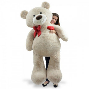Giant Teddy Bear 1 Meter And 50 Cm - Passionate Sand