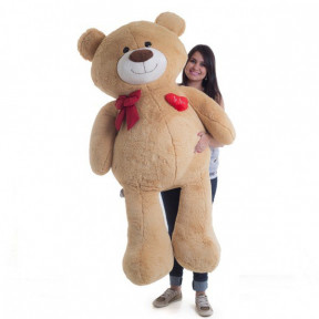 Giant Teddy Bear 1 Meter And 50 Cm - Passionate Caramel