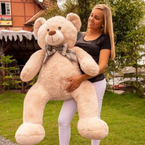 Giant Teddy Bear 1 Meter And 20 Cm - George Pearl