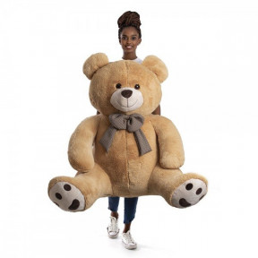 Giant Teddy Bear 1 Meter And 25 Cm - Xavier Doce De Leite