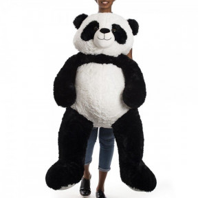 Panda Bear Teddy 1 Meter And 30 Cm - Joe Giant Black And White