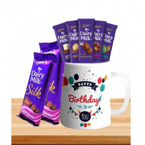 Personalized Mug With Chocolates