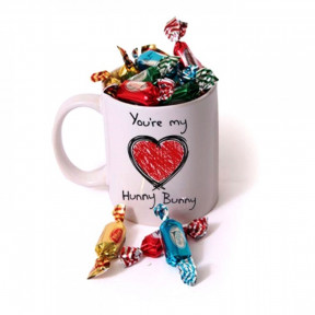 Personalized Love Mug With Chocolates