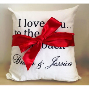 Personalized Message Pillow