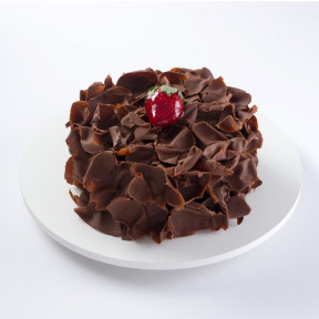 Chocolate Mousse Cake With Strawberry (1 Kg)