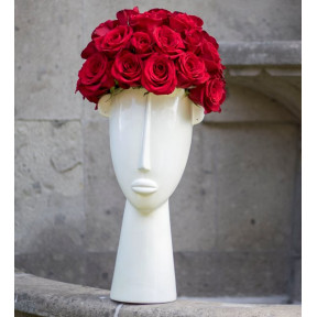 Face Of Red Roses