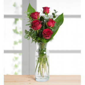 5 Red Roses - I Love You