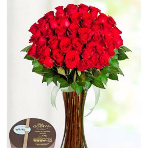 42 Red Roses And Lady Godiva