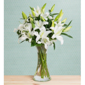 White Lilies - Charming Jewel