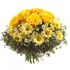 Yellow bouquet-3 (Medium)
