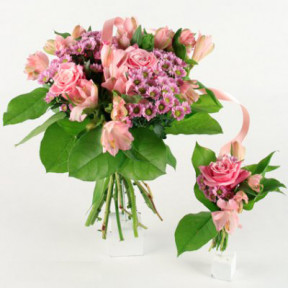 Send bouquet newborn blombud