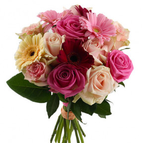 Send The Bouquet Pastel Mix As Flower Delivery (Standard)