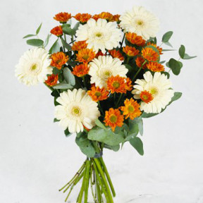 Send bouquet Glimmrande orange blombud (Small)