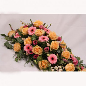 Funeral Flowers - Sweet Peach