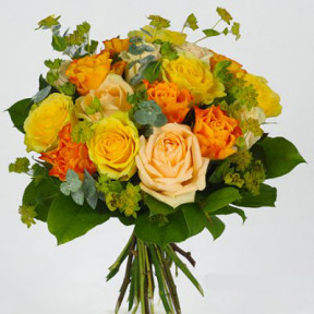 Funeral Flowers - Autumn Fraging bouquet (Small)