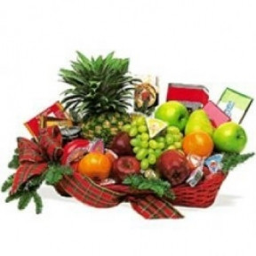 Fruits And Candies Basket