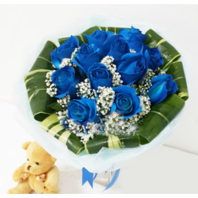 Precious Blue *FREE Teddy Bear