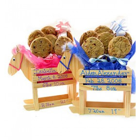 Rocking Horse Cookie Bouquet (1/2 Dozen)