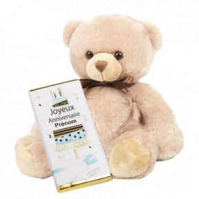 Teddy Bear And Birthday Tablet