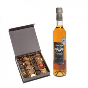 Cognac And Chocolates (25 NUMBER OF CHOCOLATES)