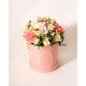 Pink flower box (Large)