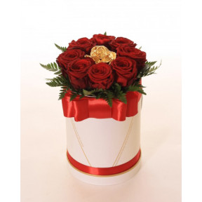 Golden Rose & Red Roses (Small)