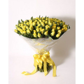 Bouquet of yellow roses (Small)