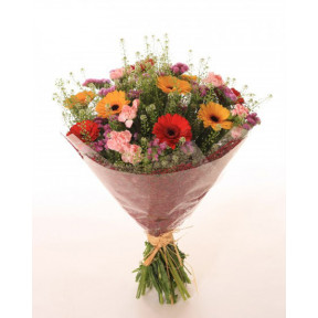 Colourful flowers bouquet (Medium)