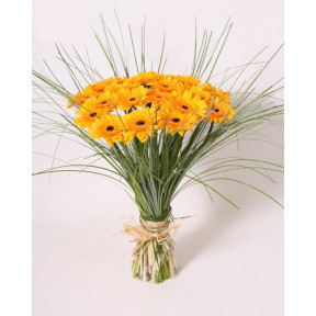 Bouquet of Yellow Gerbera-2 (Large)