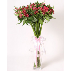Charming bouquet of alstromeria (Medium)