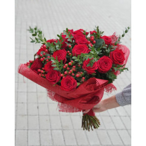 Popular Bouquet Of Roses (Small)