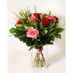 Roses And Lilies Bouquet (Small)