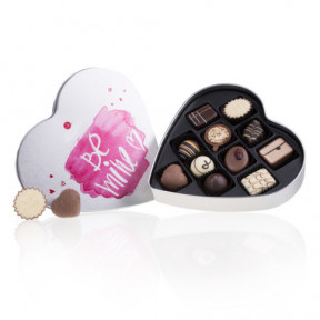 Heart With Be Mine Chocolates