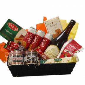 Belgian gift basket with Gouden Carolus Tripel as a gift