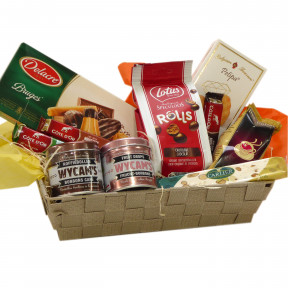 Belgian candy basket for the gourmets