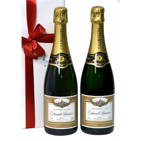 Duo Champagne Edmond Roussin as a gift