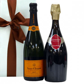Gosset Grande Reserve and Veuve Clicquot as gifts