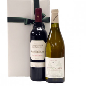 Lalande de Pomerol and Petit Chablis as gifts