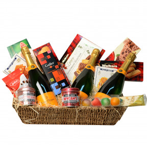 Exclusive champagne basket