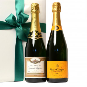 Mixed duo of champagne as a promotional gift