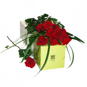 Box of red roses (Small)