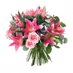 Bouquet of flowers for birthday (Medium)