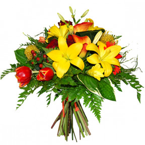 Bouquet of flowers are a sun (Small)