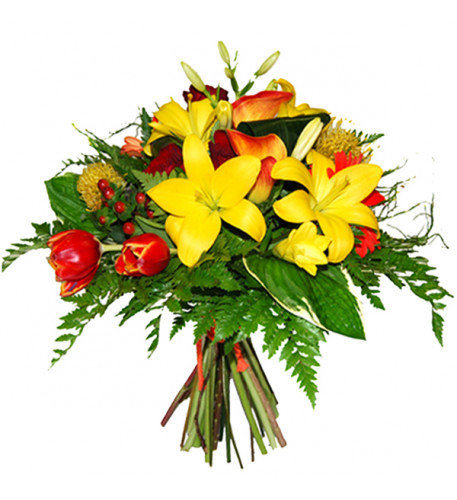 Bouquet of flowers are a sun (Medium)