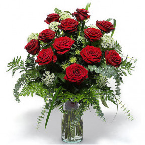Bouquet of funeral roses (Small)