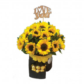 Sunflowers And Chocolates