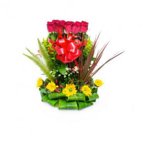 Floral arrangement of Love