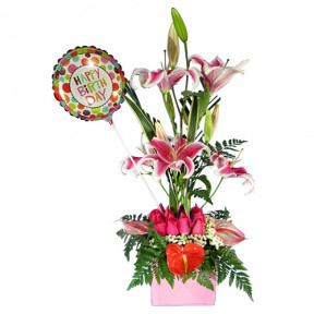Floral Arrangement For Birthday-12